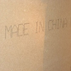 Another example, but remember, even some American drywall was made in China. You must test it to be sure.